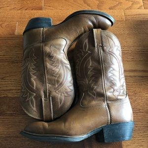 Tony Lama extra Wide Cowboy Boots Western size 10